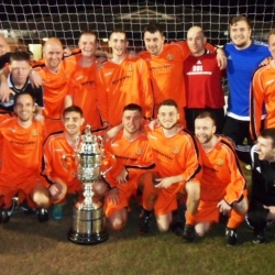 Cheshire Amateur Cup Win 2014 - 2015