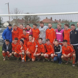 Wirral Amateur Cup Win 2015 - 16
